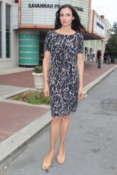 Famke Janssen @ Bringing Up Bobby photocall