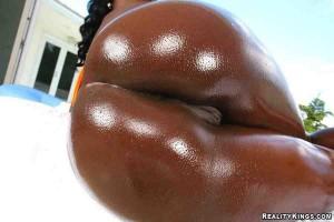 Chicas negras que tragan semen