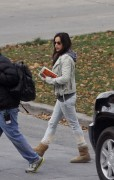 """Michelle Rodriguez on the set of """"Resident Evil: Retribution"""" in Toronto, Canada, 22 November, x2"""