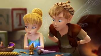 Dzwoneczek i Zaginiony Skarb / Tinker Bell and the Lost Treasure (2009) PLDUB.DVDRip.XviD.AC3-Sajmon