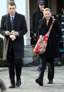 Anna Torv on the set of 'Fringe' in Vancouver, Canada, 9 December, x5