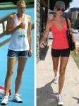 Who has the nicer legs? Stacy Keibler vs. Maria Sharapova (HQ's)