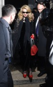 Мадонна (Луиза Чикконе Ричи), фото 1217. Madonna (Louise Ciccone Ritchie) - leaving the W.E. afterparty at the Arts Club in London, 12.01.2012, foto 1217