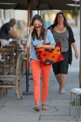 Кристин Кройк, фото 1212. Kristin Kreuk leaving the Kings Road Cafe in West Hollywood, february 16, foto 1212