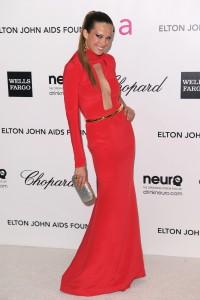 Петра Немсова, фото 4043. Petra Nemcova Elton John AIDS Foundation Academy Awards Party in LA, 26.02.2012, foto 4043