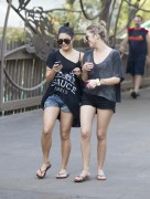 Эшли Бенсон, фото 385. Ashley Benson at Busch Gardens in Tampa Bay 03/03/12*with Vanessa Hudgens, foto 385,