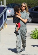 Хайди Клум, фото 5000. Heidi Klum out and about in Brentwood, March 3- 2012, foto 5000