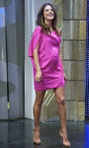 Алессандра Амброзио, фото 8178. Alessandra Ambrosio On 'El Hormiguero' TV Show in Madrid, 05.03.2012, foto 8178