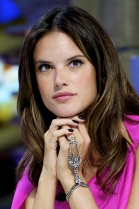 Алессандра Амброзио, фото 8186. Alessandra Ambrosio On 'El Hormiguero' TV Show in Madrid, 05.03.2012, foto 8186