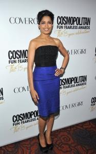 Фрида Пинто, фото 323. Freida Pinto at Cosmopolitan Fun Fearless Awards 2012, foto 323