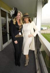 Carol Vorderman at The Cheltenham Festival 14th March x9