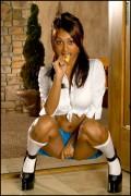 Прия Райi Анджали, фото 399. Priya Anjali Rai 'Naughty Schoolgirl' Foxes Set, foto 399