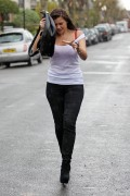 Imogen Thomas - Caught In The Rain In London 20th April 2012 HQx 22