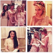 Taylor Swift, Dianna Agron, & Friends Celebrate Shirley MacLaine's B-Day