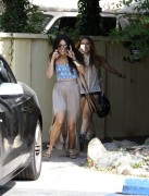 Vanessa & Stella Hudgens Out for Lunch in Studio City 5/11/12