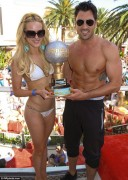 Peta Murgatroyd Wearing a Bikini at Encore Beach Club in Las Vegas on May 26, 2012