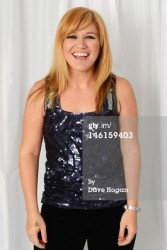 Kelly Clarkson backstage at Capital Summertime Ball @ Wembley Stadium 6/9/12