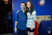 Candace Bailey - Backstage with Dominic Monaghan at AOTS! (08/13/2012) - (2xHQ)