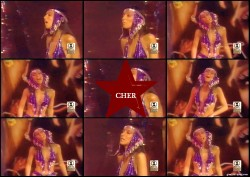 Cher in sexy Outfit --- 70s years